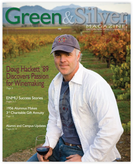 Cover of Green & Silver Magazine for 2013 March