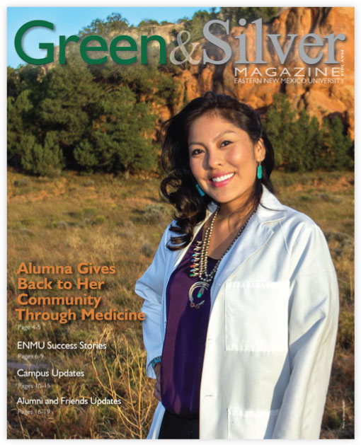 Cover of Green & Silver Magazine for 2014 May