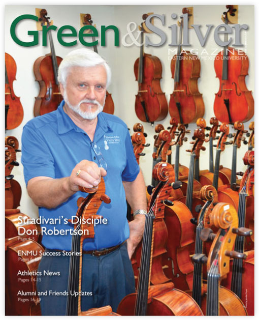 Cover of Green & Silver Magazine for 2014 Nov