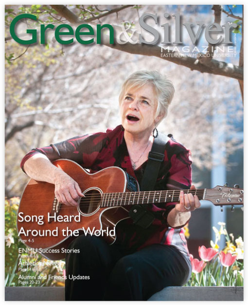 Cover of Green & Silver Magazine for 2015 Aug