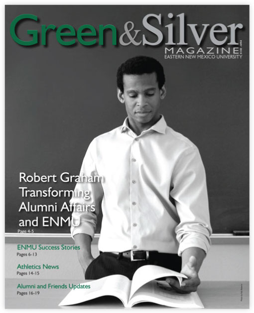 Cover of Green & Silver Magazine for 2015 May