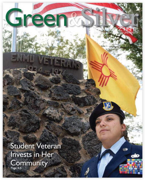 Cover of Green & Silver Magazine for 2015 Nov