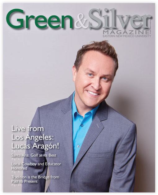 Cover of Green & Silver Magazine for 2016 Feb