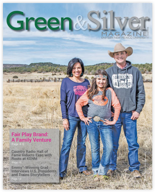 Cover of Green & Silver Magazine for 2016 May