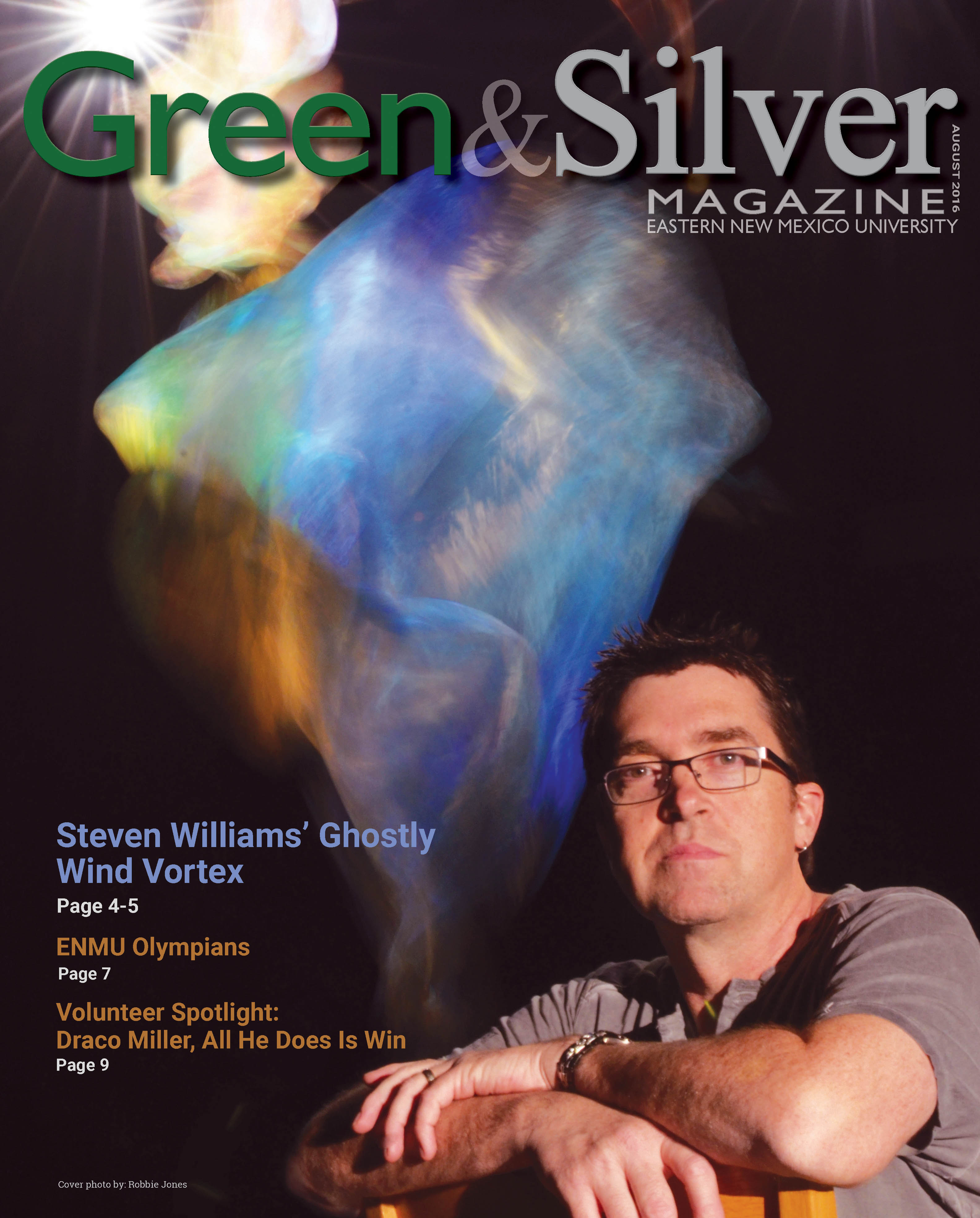 Green & Silver Magazine August 2016 cover