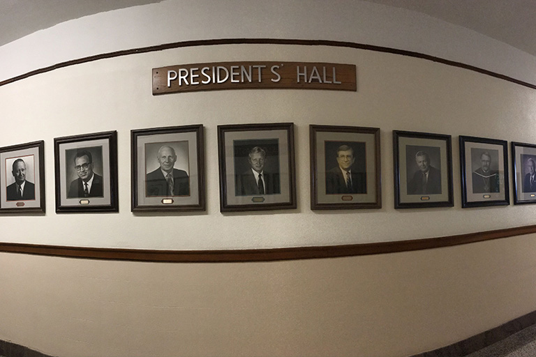 presidents hall