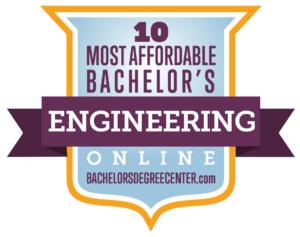 #4 of 10 most affordable online engineering degree bachelor programs for 2020