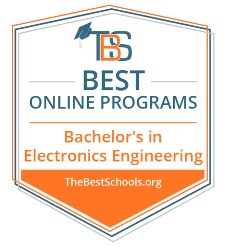 #5 of Best Online Bachelor's in Electrical Engineering Programs 2019