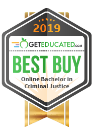 #8 of 99 Most Affordable Criminal Justice Bachelor's Degrees Online 2019