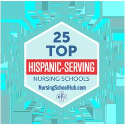 #23 of 25 Hispanic Serving Nursing Schools for 2020
