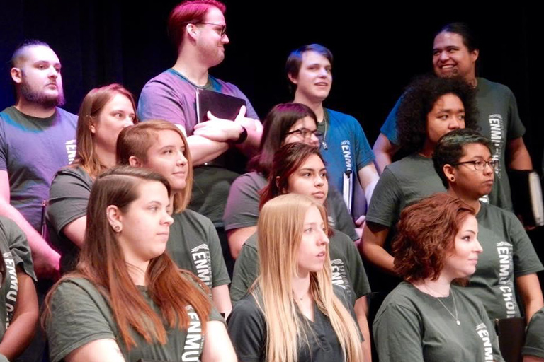 Students from the ENMU Choirs.