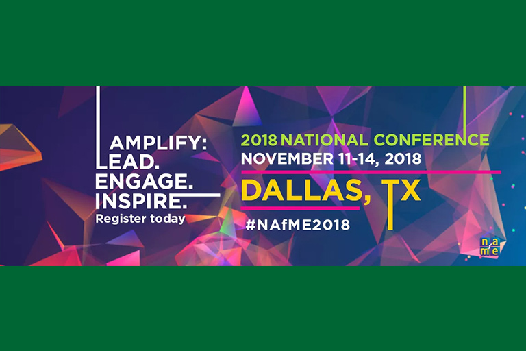 The 2018 NAfME National Conference will feature a performance by the ENMU Chamber Singers.