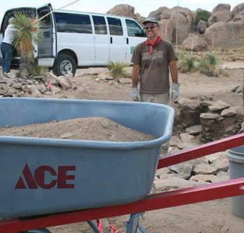 dr robert stokes city of rocks excavation