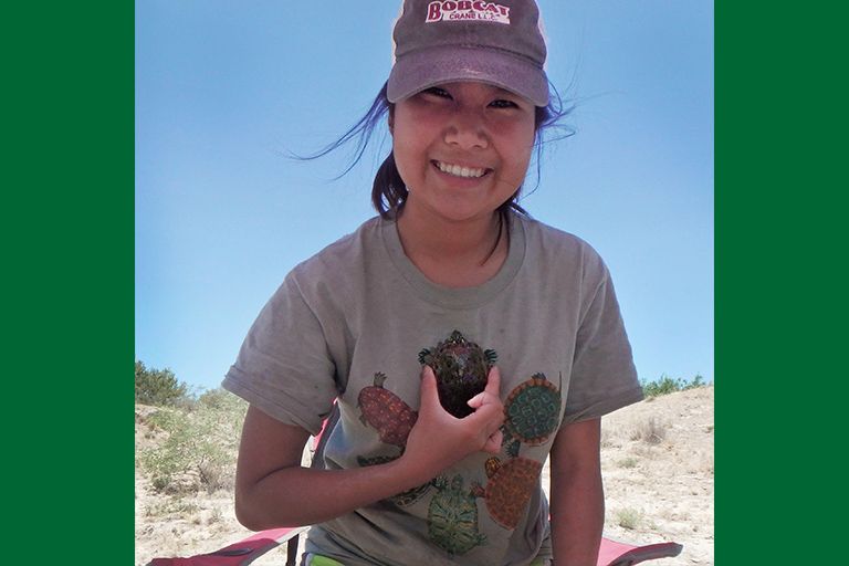 ENMU Graduate Student Uses Grant to Monitor Basking Behavior in Rio Grande  River Cooter Along the Black River in New Mexico 013749db2e1f