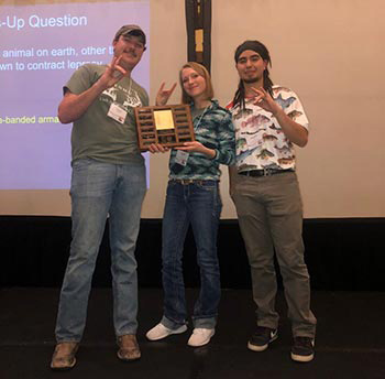 ENMU Students Win Quiz Bowl and Present Research at Annual Meeting