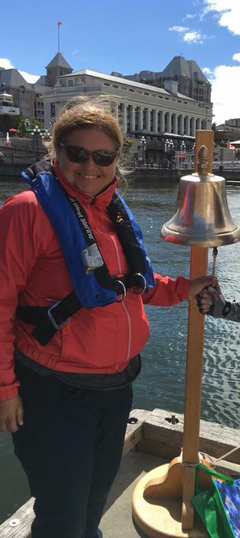teresa with bell