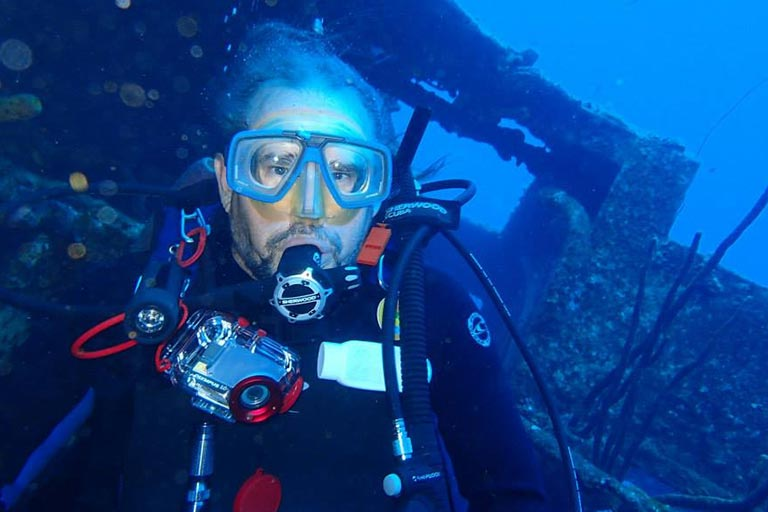 Greg Senn Scuba Diving