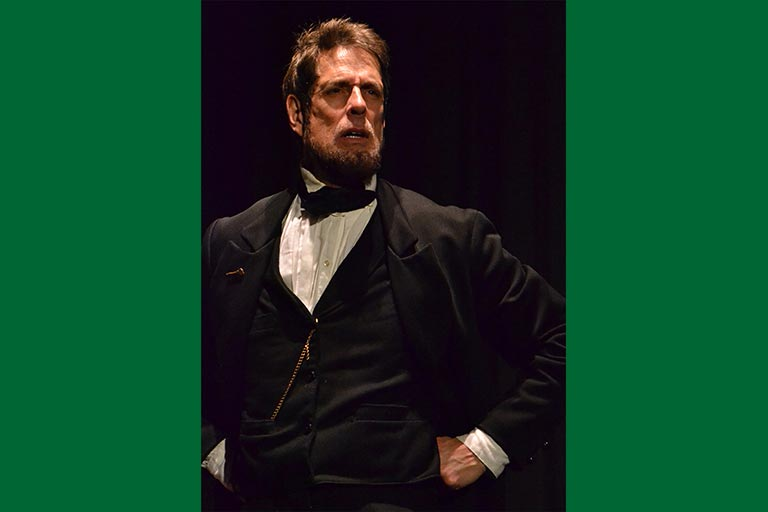 Patrick McCreary as Abraham Lincoln