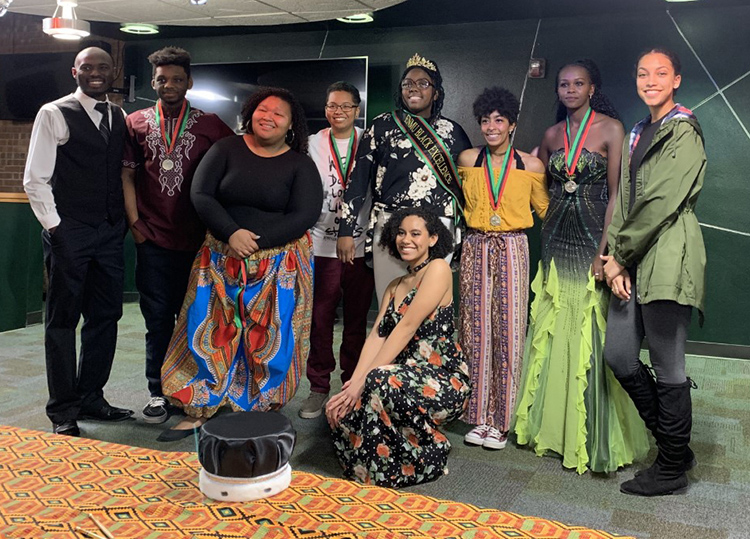 black excellence competition contestants