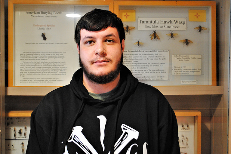 722f16edbea ENMU Student Appreciates Professors in Wildlife and Fisheries Science  Program. Michael Gregory says the ...