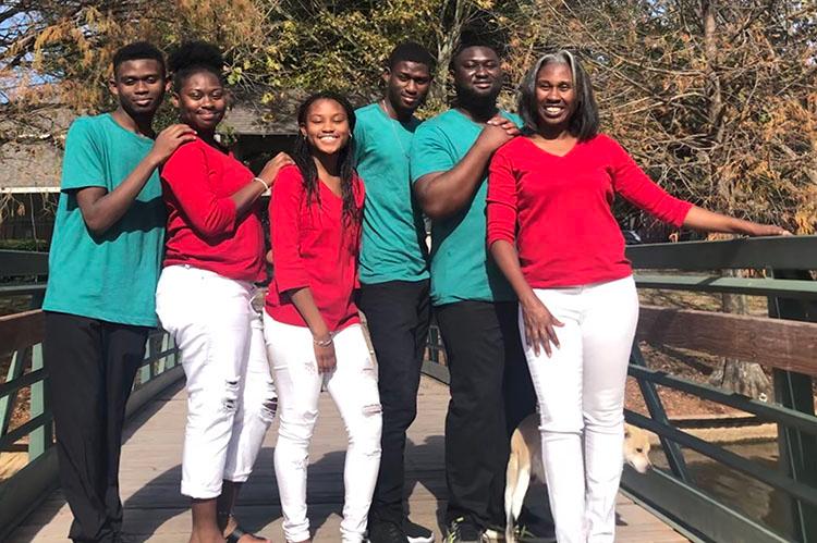 Tara Maye's family