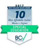 Best College Values 10 Most Afforable Master Degrees in Special Ed