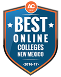 Best Online Colleges In New Mexico For 2016-17 Ranks ENMU #1 in New Mexico by AffordableCollegesOnline.org 2016-17
