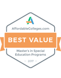 best value masters in special education programs 2016