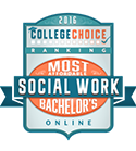 college choice most affordable social work online