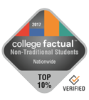 college factual non traditional students nationwide top ten percent