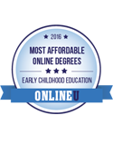 most affordable online degrees early childhood education 2016