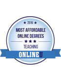 most affordable online degrees teaching 2016