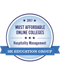 onlineu most affordable Hospitality and management degree 2017