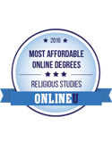 most affordable online religious studies 2016