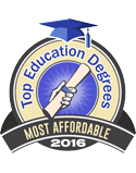 top education degrees most affordable 2016
