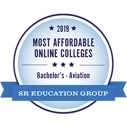 #1 most affordable online aviation bachelor's