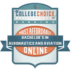 #1 most affordable online bachelor's in aeronautics and aviation