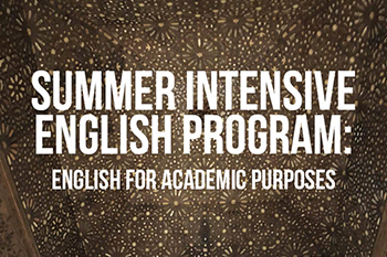 summer intensive english program