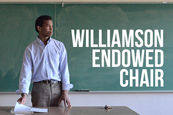 williamson endowed chair