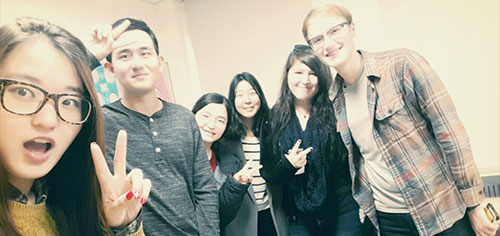 Taylor Wapaha studied abroad at Hankuk University of Foreign Studies (HUFS) in Seoul, South Korea