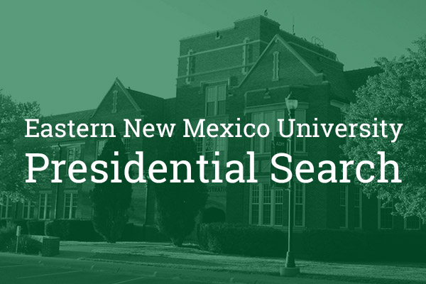enmu presidential search